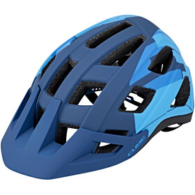 Cube Badger Bike Helmet blue/turquoise